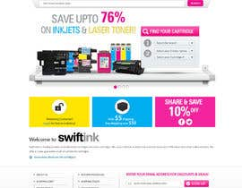 #37 para Website Design for Swift Ink por shoahmed