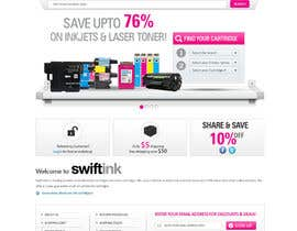 #36 para Website Design for Swift Ink por shoahmed