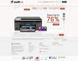 #51 para Website Design for Swift Ink por Bkreative
