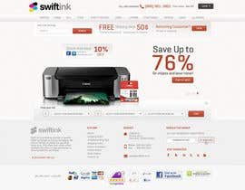 #50 para Website Design for Swift Ink por Bkreative
