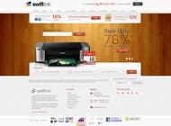 Graphic Design Konkurrenceindlæg #60 for Website Design for Swift Ink