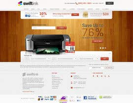 #60 para Website Design for Swift Ink por Bkreative