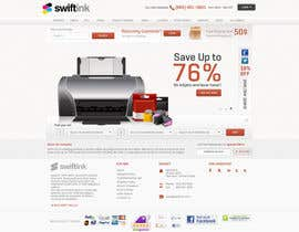 #66 para Website Design for Swift Ink por Bkreative