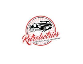 #56 untuk Retro auto electrician logo design oleh papri802030