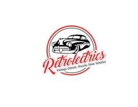 #90 untuk Retro auto electrician logo design oleh papri802030