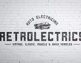 #54 untuk Retro auto electrician logo design oleh RetroJunkie71