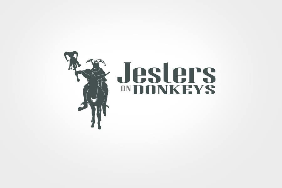 "Inscrição nº 73 do Concurso para This should be fun: ""Jesters on Donkeys"" looking for company logo design"