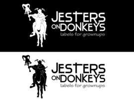 "rogeliobello tarafından This should be fun: ""Jesters on Donkeys"" looking for company logo design için no 72"