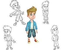 Nro 19 kilpailuun Draw a cartoon boy with 4 facial expressions käyttäjältä Thabsheeribz