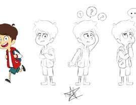 Nro 25 kilpailuun Draw a cartoon boy with 4 facial expressions käyttäjältä andrewzc00