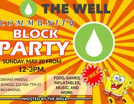 #23 for design promo for a community block party by monirkhan2928