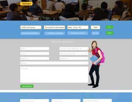 Nro 7 kilpailuun Simple website to register a course request and to create a database käyttäjältä Baljeetsingh8551