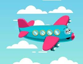 #23 for Design an animated GIF Logo - Airplane Mascot by larsenfree