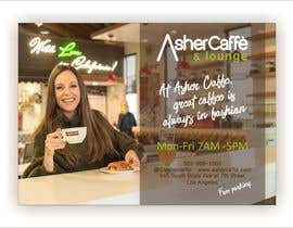 #34 for Design an Adverstisement for Coffee Shop / Fabric Store by LettersDi