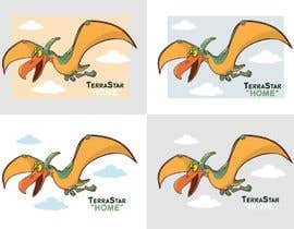 #70 for Company Logo - Cartoon Character (Mascot) - Pterodactyl (Flying Dinosaur) by atanasovskigorgi