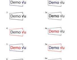 #245 for Create a logo for: DemoVu by daniyalhussain96