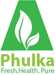 Kilpailutyö #2 kilpailussa Modern Logo design for Company selling Roti (Indian Dailily Bread). Name is Phulka (Tag line Fresh.Healthy.Pure)