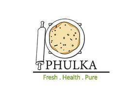 Nro 7 kilpailuun Modern Logo design for Company selling Roti (Indian Dailily Bread). Name is Phulka (Tag line Fresh.Healthy.Pure) käyttäjältä priyadutta9