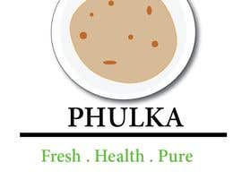 Nro 8 kilpailuun Modern Logo design for Company selling Roti (Indian Dailily Bread). Name is Phulka (Tag line Fresh.Healthy.Pure) käyttäjältä priyadutta9