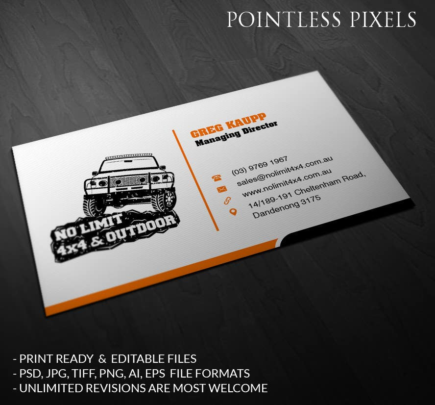 Entry 35 by pointlesspixels for business card design no limit 4x4 contest entry 35 for business card design no limit 4x4 reheart Choice Image