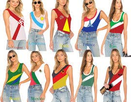 #221 for Design 10 World Cup 2018 Women T-Shirts by shultanashahanez