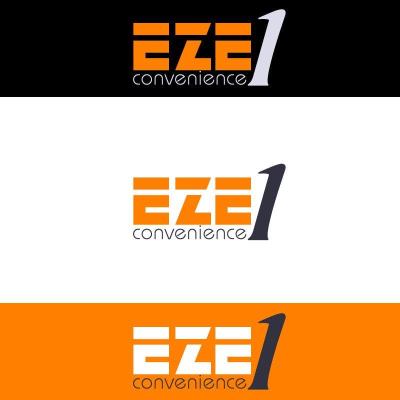 Penyertaan Peraduan #31 untuk Logo Design for EZE1 (EZE1 Convenience)