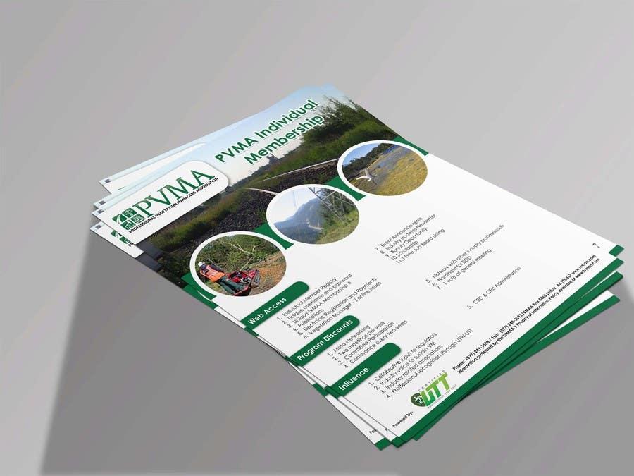 Inscrição nº                                         22                                      do Concurso para                                         Design a Brochure for PVMA