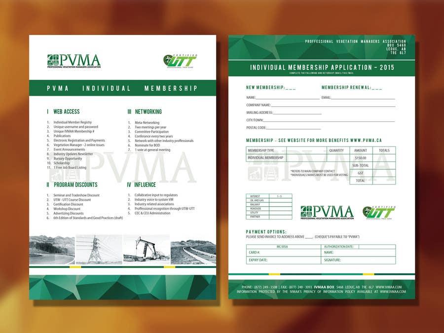 Inscrição nº                                         17                                      do Concurso para                                         Design a Brochure for PVMA
