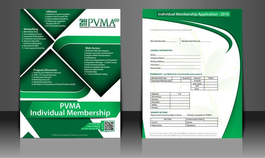 Inscrição nº                                         6                                      do Concurso para                                         Design a Brochure for PVMA