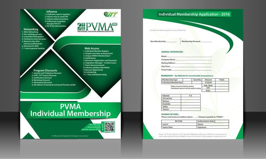 Inscrição nº                                         12                                      do Concurso para                                         Design a Brochure for PVMA