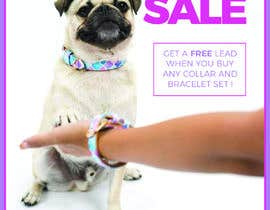 #12 for Can you add our Pawfect Pals logo attached on picture.  In a bigger text:  Mother's Day Sale Get a free lead when you buy any collar and bracelet set!  In a smaller text: This offer is available until the 11th of May 2018. To help us make sure you get you by Weare4
