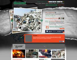 nº 34 pour Website Design for Disaster.Com par ANALYSTEYE
