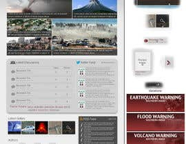 #40 untuk Website Design for Disaster.Com oleh SmithWebDesign
