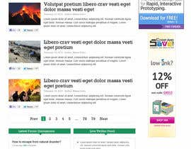 nº 26 pour Website Design for Disaster.Com par nhany