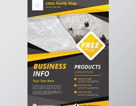 #7 for leaflet design - online retail baby clothes by n000m444n