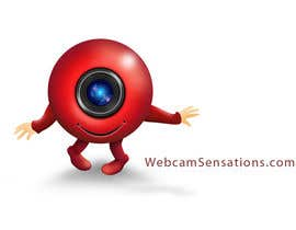#165 untuk Logo Design for Webcam Sensations oleh AnaCZ