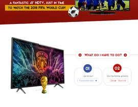 Nro 15 kilpailuun Design a landing page for our competition käyttäjältä robertoanguloto