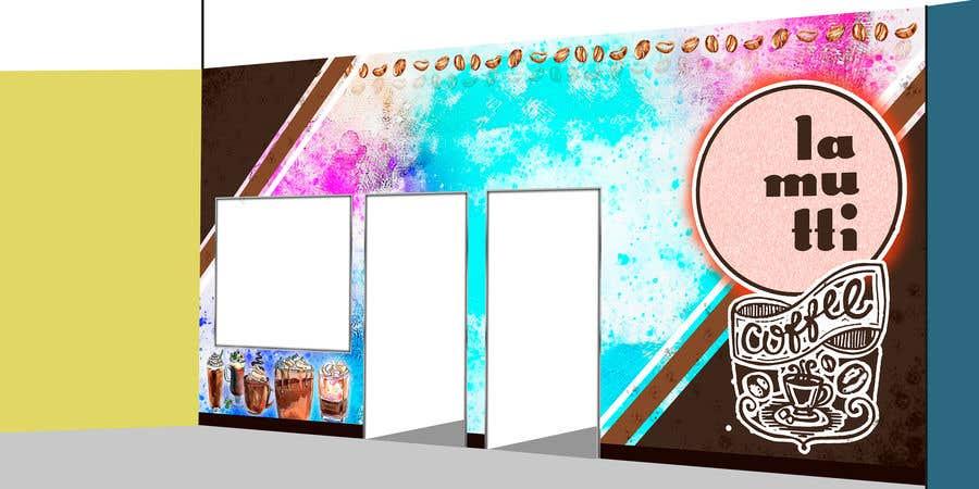 Entry 92 By Jokey05 For Diseño De Murales Para Terraza De