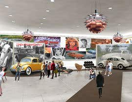 SDBcIndia tarafından Illustrate an interior with visitors and attractions for a modern VW Beetle museum için no 42