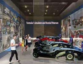 SDBcIndia tarafından Illustrate an interior with visitors and attractions for a modern VW Beetle museum için no 51
