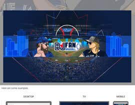 #35 , Blue Jays Baseball Fan Youtube Channel Banner and +Logo 来自 gilart