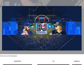 #36 , Blue Jays Baseball Fan Youtube Channel Banner and +Logo 来自 gilart