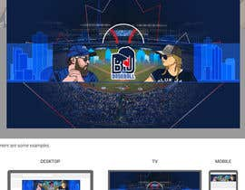 #37 , Blue Jays Baseball Fan Youtube Channel Banner and +Logo 来自 gilart