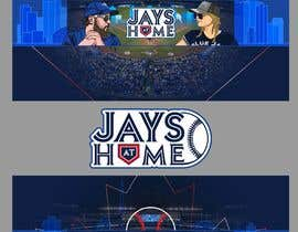 #40 , Blue Jays Baseball Fan Youtube Channel Banner and +Logo 来自 gilart