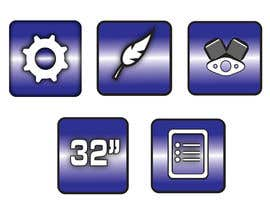 #5 cho Design some Icons for motorsports company site bởi thedubliner