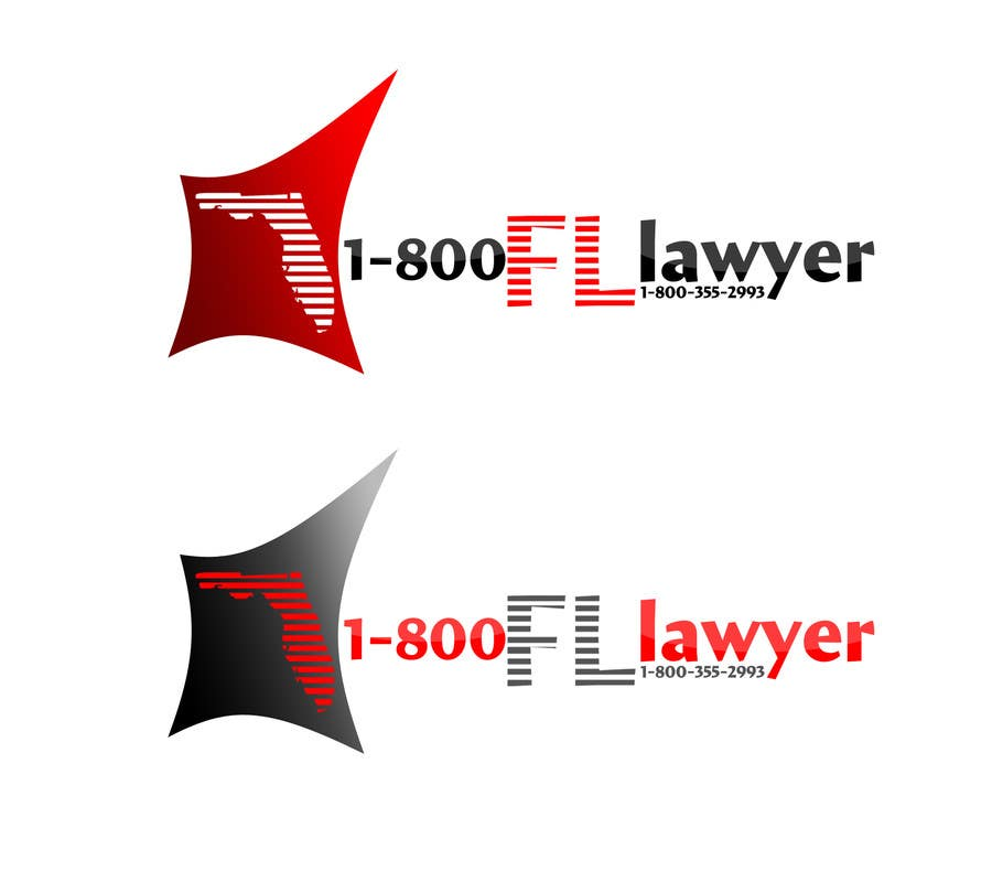 Contest Entry #215 for Logo Design for 1-800FLLawyer