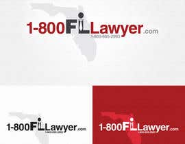 #208 para Logo Design for 1-800FLLawyer por Alexandru02