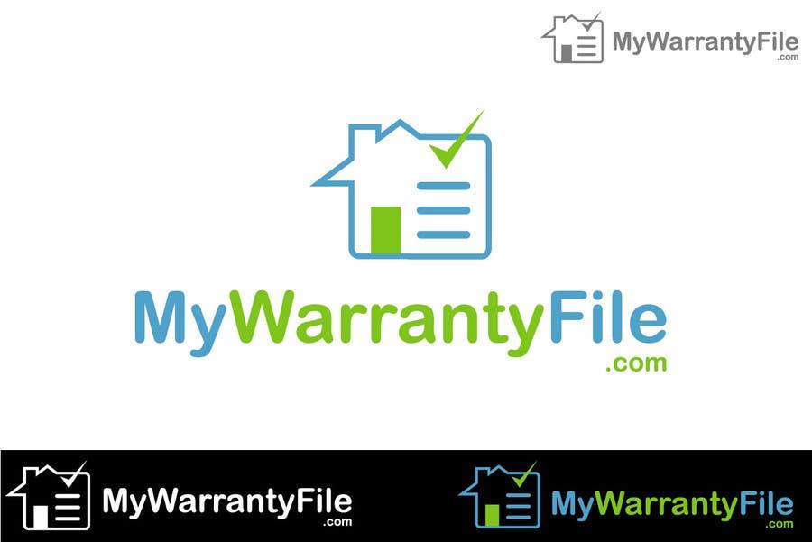 Bài tham dự cuộc thi #101 cho Logo Design for My Warranty File