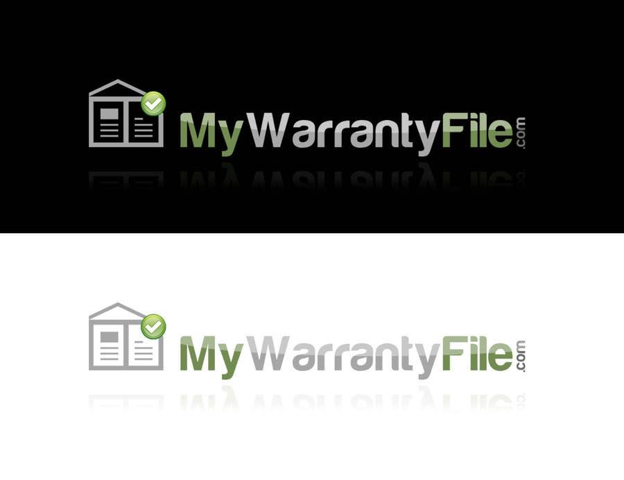 Bài tham dự cuộc thi #45 cho Logo Design for My Warranty File