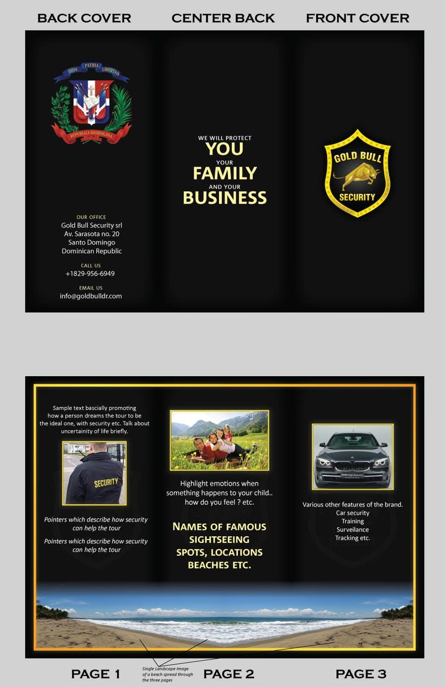 Penyertaan Peraduan #                                        8                                      untuk                                         Flyer Design for security and transportation company